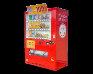 福岡ドリンクの自動販売機